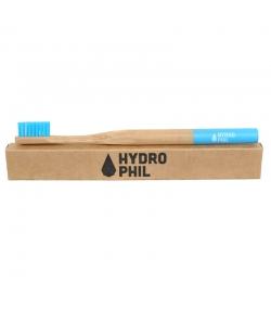 Bambus Zahnbürste Blau Nylon Mittelweich - 1 Stück - Hydrophil