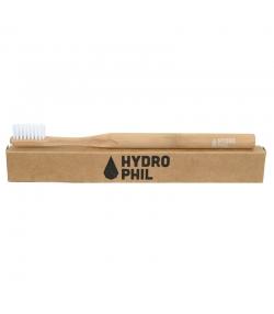 Brosse à dents en bambou Nature Medium-Soft Nylon - 1 pièce - Hydrophil