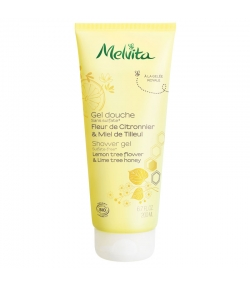 Gel douche BIO fleur de citronnier & miel de tilleul - 200ml - Melvita