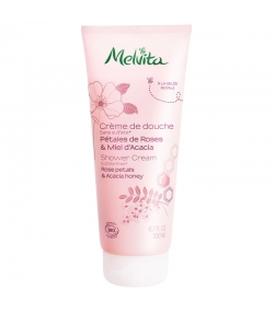 Crème de douche BIO pétales de rose & miel d'acacia - 200ml - Melvita
