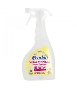 """Spray vinaigre d'alcool blanc senteur framboise 12% écologique """"Les Essentiels"""" - 500ml - Ecodoo"""