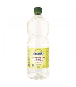 """Vinaigre d'alcool blanc senteur framboise 12% écologique """"Les Essentiels"""" - 1l - Ecodoo"""