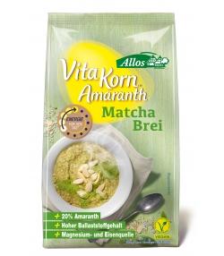 BIO-Frühstücksbrei mit Amaranth & Matcha - 400g - Allos