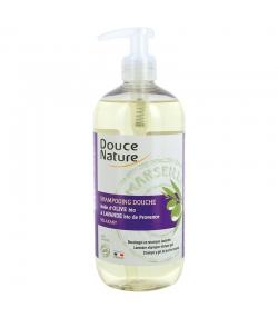 BIO-Dusch-Shampoo entspannend Olivenöl & Lavendel - 500ml - Douce Nature
