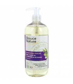 Shampooing douche relaxant BIO huile d'olive & lavande - 500ml - Douce Nature