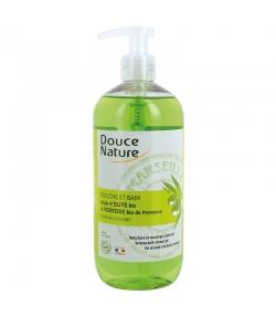 BIO-Dusch- & Badecreme erfrischend Olivenöl & Eisenkraut - 500ml - Douce Nature