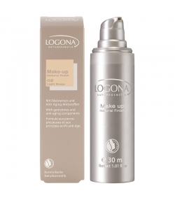 BIO-Make-up Liquid N°02 Light beige - 30ml - Logona