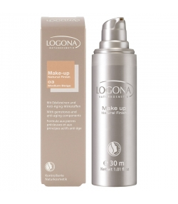 BIO-Make-up Liquid N°03 Medium beige - 30ml - Logona