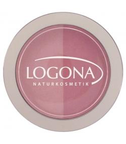 BIO-Duo-Wangenrouge N°01 Rose & pink - 10g - Logona