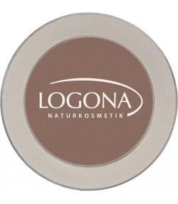 Ombre à paupières mono nacrée BIO N°02 Chocolate - 2g - Logona