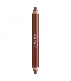Crayon lèvres duo BIO N°02 Chestnut - 4,67g - Logona
