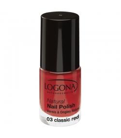 BIO-Nagellack matt N°03 Classic red - 4ml - Logona