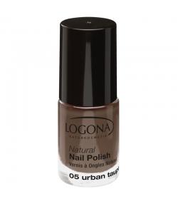 Vernis à ongles mat BIO N°05 Urban taupe - 4ml - Logona