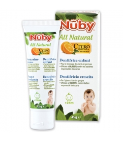 Dentifrice enfant naturel citroganix - 45g - Nûby All Natural