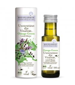 Omega Green mélange d'huile de lin BIO - 100ml - Bio Planète