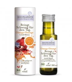 Omega Orange mélange d'huile de lin BIO - 100ml - Bio Planète