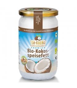 Graisse de coco désodorisée BIO - 1l - Dr.Goerg