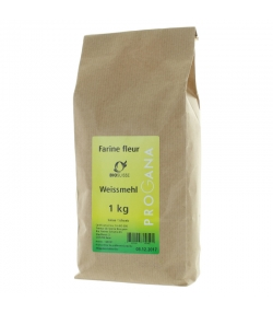 Farine blanche BIO - 1kg - Progana