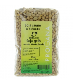 Soja jaune de Romandie BIO - 500g - Progana