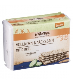 BIO-Knäckebrot Vollkorn mit Dinkel - 250g - Naturata