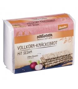 BIO-Knäckebrot Vollkorn mit Sesam - 250g - Naturata