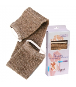 Massage- & Peelinggurt aus Jute & BIO-Baumwolle - 1 Stück - Anaé