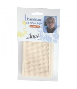 Bandeau de maquillage lavable en coton BIO - 1 pièce - Anaé