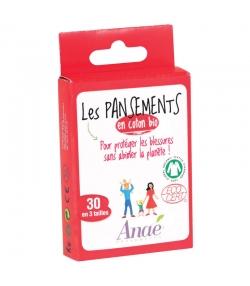 Pflaster aus BIO-Baumwolle - 30 Stück - Anaé
