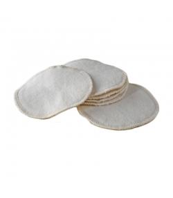 Coussinets d'allaitement lavables en coton BIO - 6 pièces - Anaé