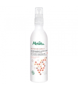 Lait démaquillant confort 3-en-1 BIO miel de thym - 200ml - Melvita Nectar de Miels