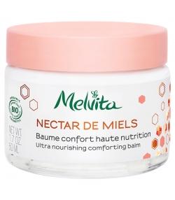 Baume confort haute nutrition BIO miel de thym - 50ml - Melvita Nectar de Miels