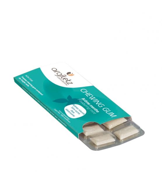 Chewing gum menthe & argile verte - 12 pièces - Argiletz