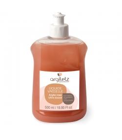 Liquide vaisselle argile rose, mandarine & pamplemousse - 500ml - Argiletz