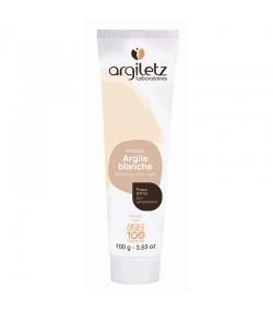 Masque prêt à l'emploi argile blanche - 100g - Argiletz