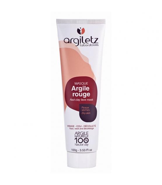 Masque prêt à l'emploi argile rouge - 100g - Argiletz
