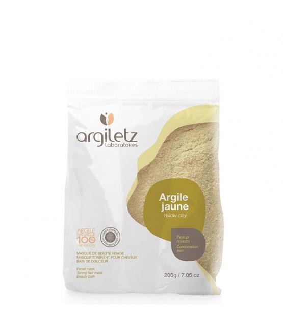 Argile jaune ultra‑ventilée - 200g - Argiletz
