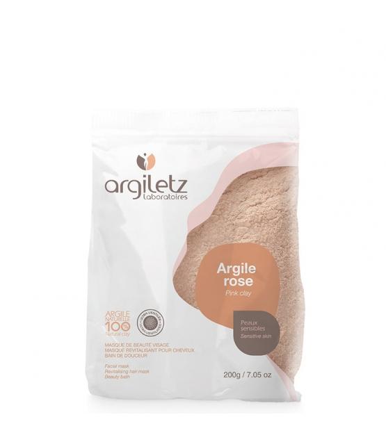 Argile rose ultra‑ventilée - 200g - Argiletz