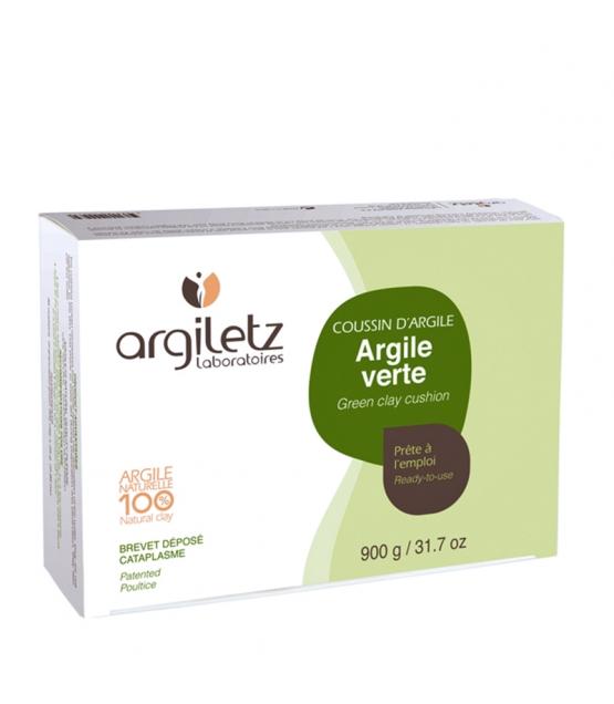 Coussins d'argile verte prêts à l'emploi - 36 coussins - Argiletz
