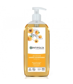 Gel douche ondée gourmande BIO abricot vanillé - 500ml - Centifolia