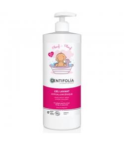 Gel lavant corps & cheveux bébé BIO pêche & aloe vera - 500ml - Centifolia