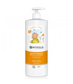 Lait de toilette bébé BIO pêche & aloe vera - 500ml - Centifolia