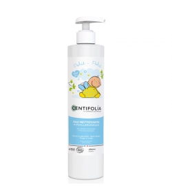 Eau nettoyante sans rinçage bébé BIO pêche & aloe vera - 250ml - Centifolia