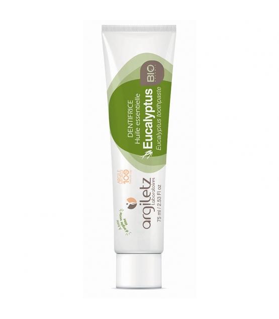 Dentifrice BIO argile verte & eucalyptus - 75ml - Argiletz
