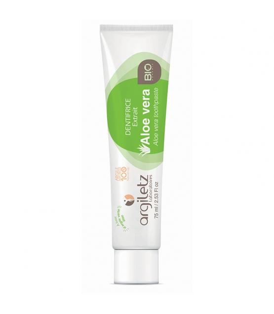 BIO-Zahnpasta grüne Tonerde & Aloe Vera - 75ml - Argiletz