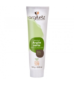Gesichtsmaske aus grüner Tonerde - 100g - Argiletz