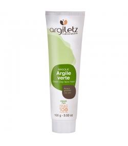 Masque prêt à l'emploi argile verte - 100g - Argiletz