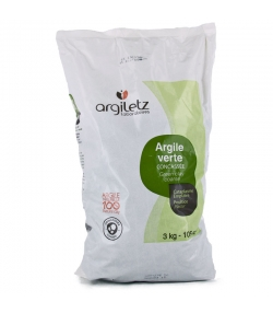 Grüne Tonerde grob - 3kg - Argiletz