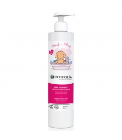 Gel lavant corps & cheveux bébé BIO pêche & aloe vera - 250ml - Centifolia