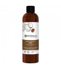 Natives BIO-Kokosnussöl - 200ml - Centifolia