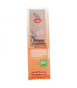 Pièges à mouches - 5 pièces - La droguerie écologique